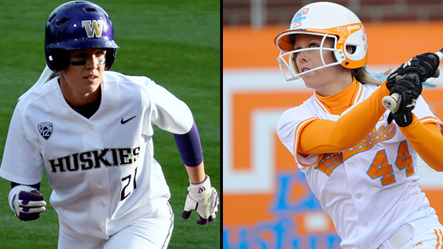 #11 Washington vs. #7 Tennessee (Game #5): 2013 NCAA Women's College World Series