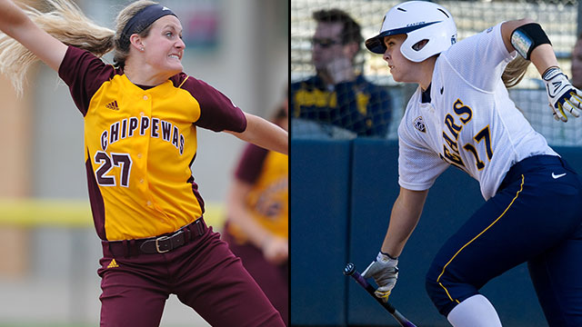 Central Michigan vs. California (Site 5 / Game 1): 2013 NCAA Softball Regionals