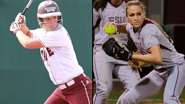 Mississippi State vs. Florida State (Site 6 / Game 1): 2013 NCAA Softball Regionals