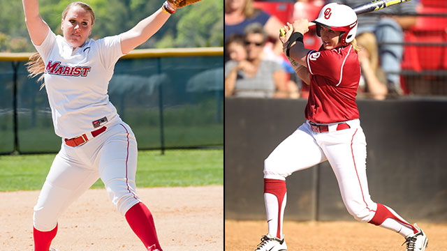 Marist vs. #1 Oklahoma (Site 3 / Game 2): 2013 NCAA Softball Regionals