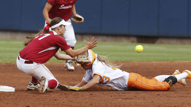 #1 Oklahoma vs. #7 Tennessee (WCWS Finals Game 2): 2013 NCAA Women's College World Series