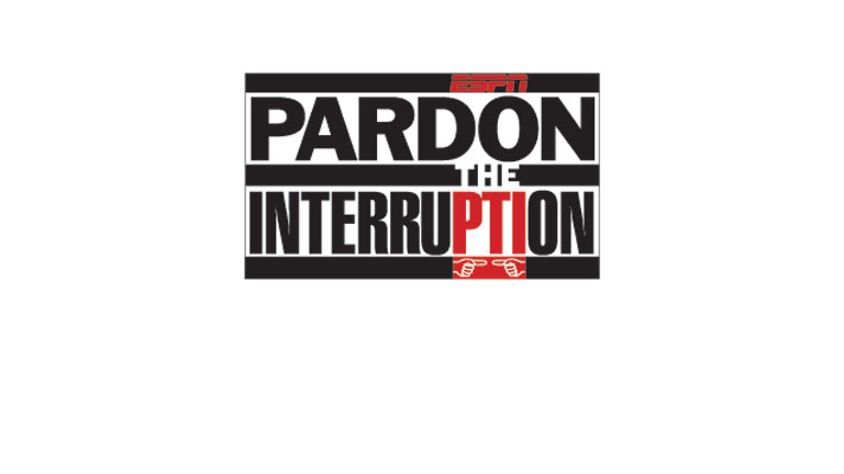 Pardon The Interruption presented by Johnny Walker