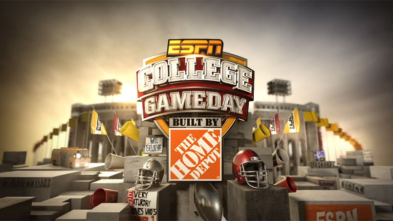 College GameDay Featured Built By The Home Depot