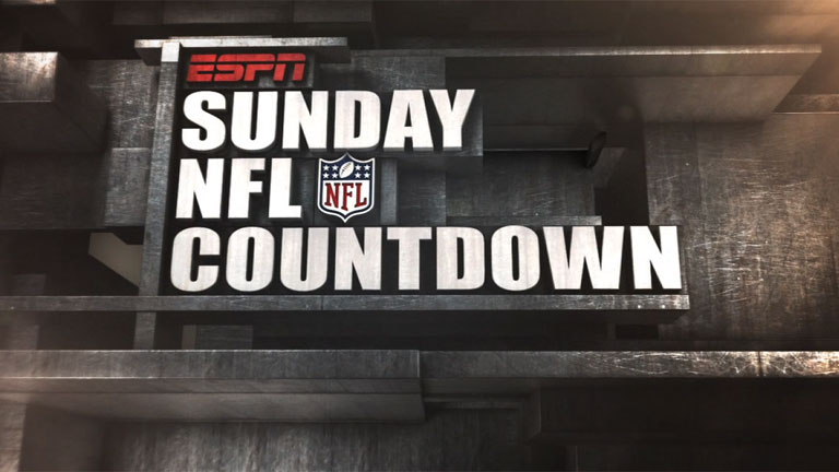 Sunday NFL Countdown presented by IBM