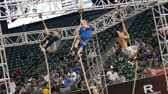 2012 Reebok CrossFit Games (Men's) (Ball Toss And Track Triplet)