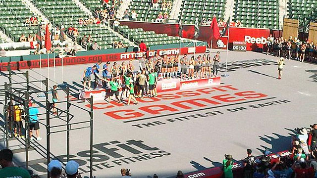 2013 Reebok CrossFit Games (Men's) (Clean And Jerk Ladder)
