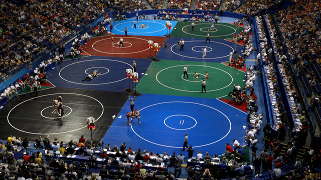 NCAA Wrestling Championships presented by Northwestern Mutual (First Round - Mat 2)