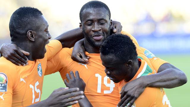 Cote D'Ivoire vs. Tunisia