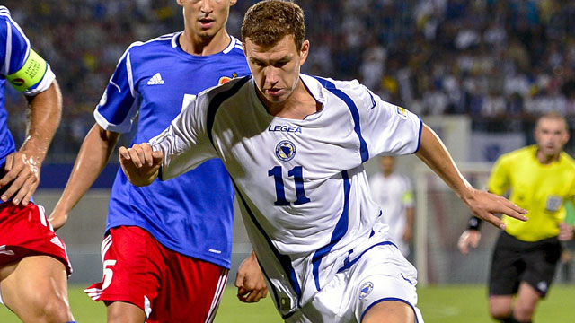 Bosnia-Herzegovina vs. Latvia: World Cup 2014 Qualifier