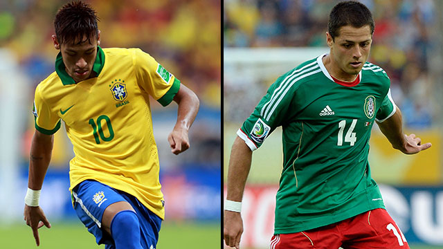 Brazil vs. Mexico (Group A)
