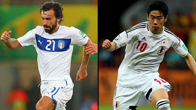 Italy vs. Japan (Group A)
