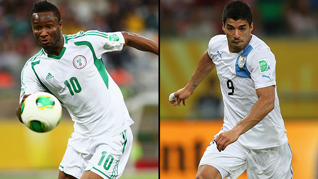 Nigeria vs. Uruguay (Group B)