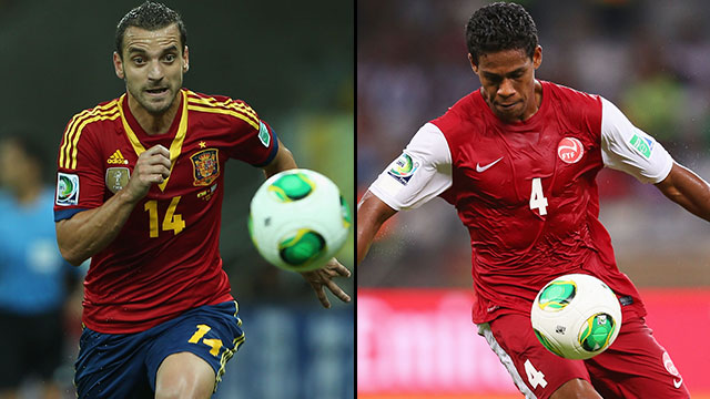 Spain vs. Tahiti (Group B)