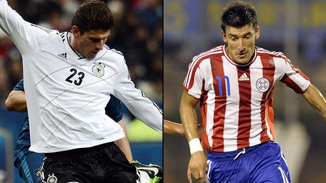 Germany vs. Paraguay