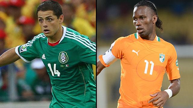 Mexico vs. Ivory Coast