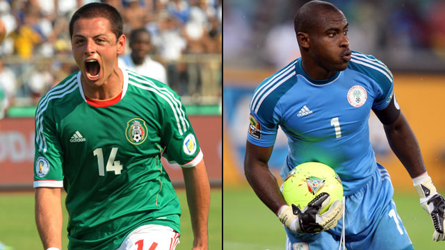 Mexico vs. Nigeria