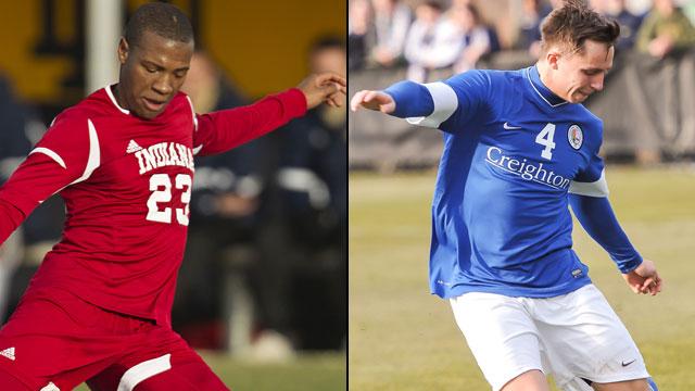 #16 Indiana vs. #12 Creighton (Semifinal #2): NCAA Men's College Cup