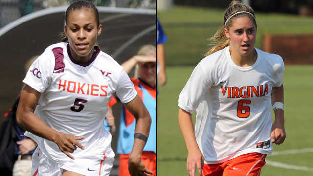 Virginia Tech vs. Virginia (Semifinal #1): 2013 ACC Women's Soccer Championship