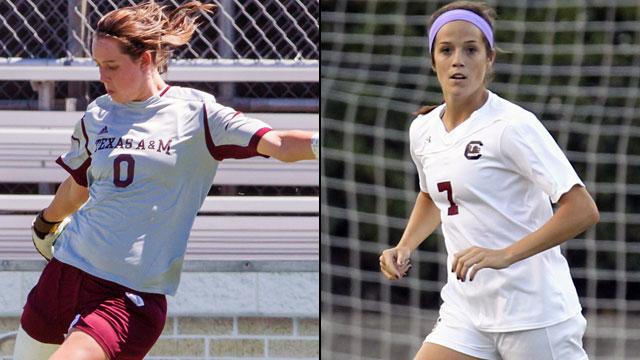 Texas A&M vs. South Carolina (Semifinal #2): 2013 SEC Women's Soccer Championship