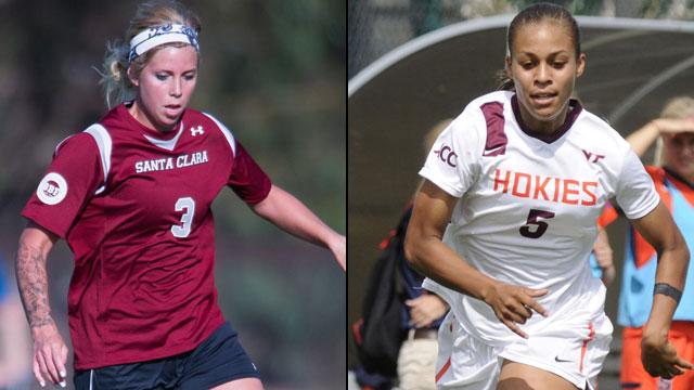 #4 Santa Clara vs. #1 Virginia Tech: 2013 NCAA Women's Soccer Championship