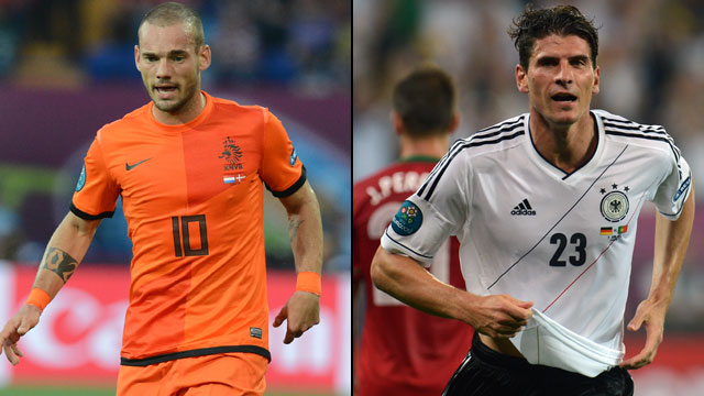 Netherlands vs. Germany (Group B) (English)