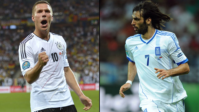 Germany vs. Greece (Quarterfinals)