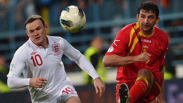 Montenegro vs. England