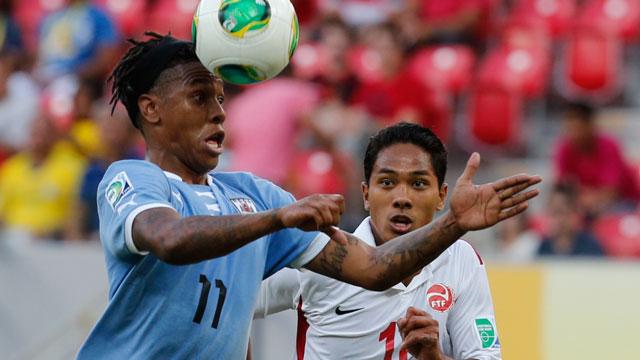 Uruguay vs. Tahiti (Group B)