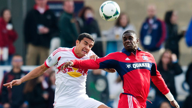 Chicago Fire vs. New York Red Bulls
