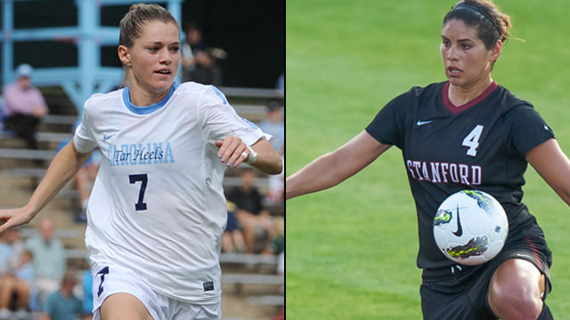 #2 North Carolina vs. #1 Stanford (Semifinal #2): NCAA Women's College Cup