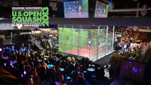 Delaware Investments U.S. Open Squash: Women's Semifinals