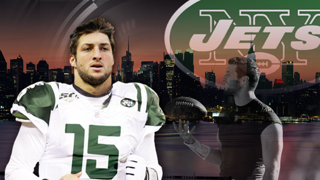 Tebow Press Conference Sportscenter Jets/tebow Press