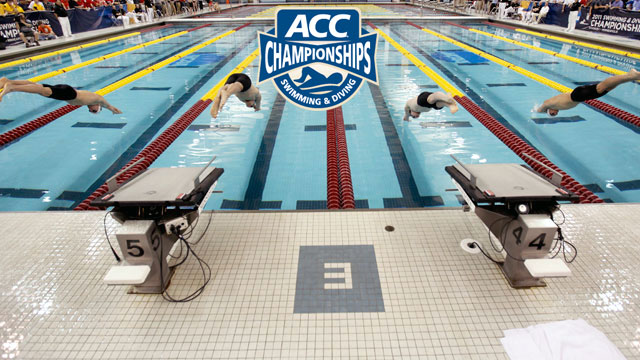 ACC Women's Swimming And Men's Diving Championship