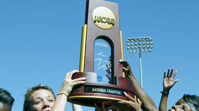 NCAA Outdoor Track & Field Championships Trophy Presentation