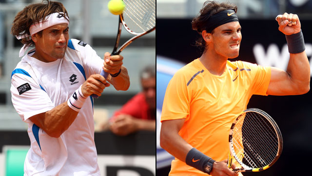 Rafael Nadal vs. David Ferrer (Men's Semifinal #1)