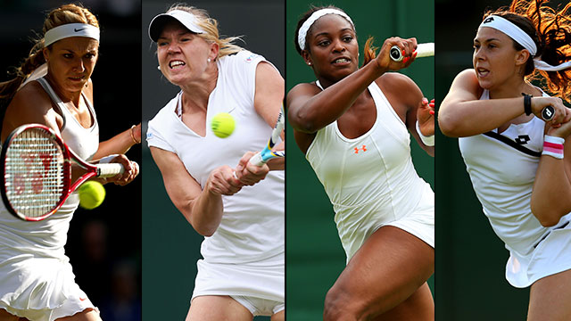 The Championships, Wimbledon 2013 - ESPN Coverage (Ladies' Quarterfinals: No. 1 Court)