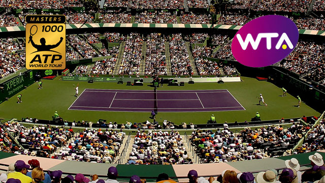 Sony Open Tennis 2013 (Women's Semifinal #1 & Men's Qtrfinal)