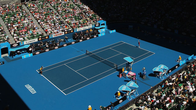 Rod Laver Arena (Day 1) - Australian Open 2013 - Rod Laver Arena (Day 1) (First Round)