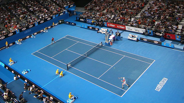 (3) Sania Mirza (IND) and Bob Bryan (USA) vs. Samantha Stosur (AUS) and Luke Saville (AUS)