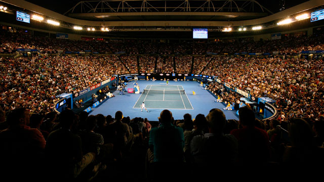 (1) Novak Djokovic (SRB) vs. (15) Stanislas Wawrinka (SUI)