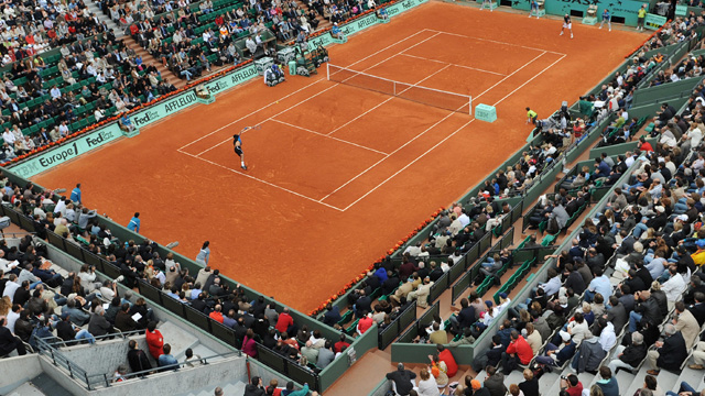 French Open 2013: Court Suzanne Lenglen (Day 1) (First Round)