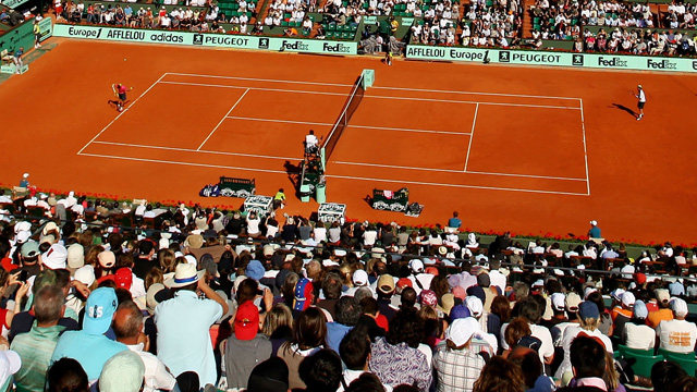 French Open 2013: Court Philippe Chatrier (Day 1) (First Round)