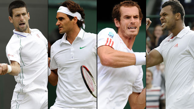 The Championships, Wimbledon 2012 presented by IBM: ESPN Coverage (Gentlemen's Semifinals)