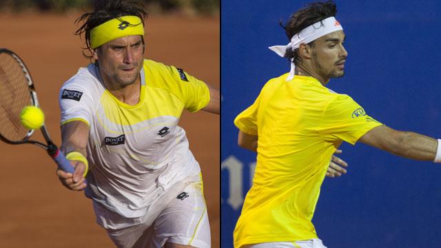 David Ferrer (Esp) vs. Fabio Fognini (Ita) (SF #1 - Abierto Mexicano Telcel)