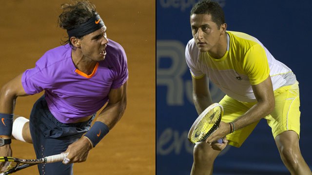 Rafael Nadal (Esp) vs. Nicolas Almagro (Esp) (SF #2 - Abierto Mexicano Telcel)