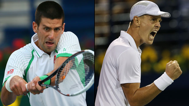 Novak Djokovic (Srb) vs. Tomas Berdych (Cze) (Men's Final - Dubai Duty Free Tennis Championships)