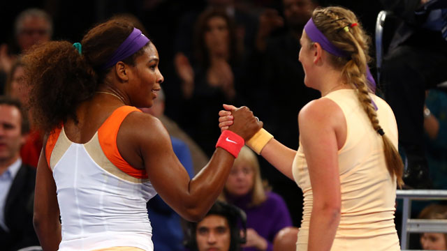 Serena Williams (USA) vs. Victoria Azarenka (Blr) (Exhibition): BNP Paribas Showdown
