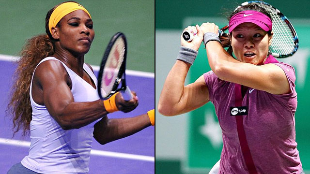 Serena Williams (USA) vs. Li Na (CHN) (Championship)