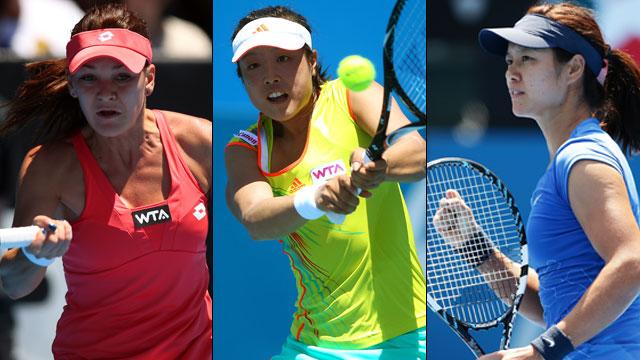 Apia International Sydney (Round of 16) - [4] Li Na (CHN) vs. Ayumi Morita (JPN) (Round of 16)