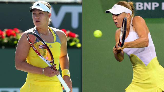 Angelique Kerber (Ger) vs. Caroline Wozniacki (Den) (Women's Semifinal #1)